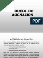 Modelo De Asignación ING Pericón Umss