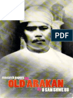 Research Papers on Old Arakan