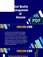 total quality management in amazon