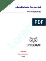 Apostila - Contabilidade Gerencial - Prof. Lorentz