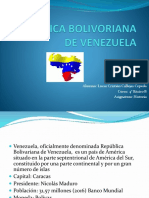 REPÚBLICA BOLIVORIANA DE VENEZUELA