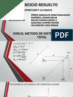 EJERCICIO DE METODO MATRICIAL DE SISTEMATIZACION TOTAL