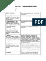 redmon narrative project plan template
