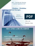 Hidraulica 1 - Perdidas y Ganancias de Energia