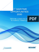 ICT Maritime Opportunities 2030 - Maritime Connected and Automated Transport - Maritime Europe Strategic Action