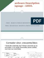 Altera Hardware Description Language - AHDL -Erico