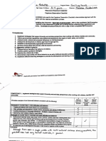 capstone observation checklist