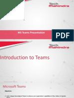 Microsoft Teams Introduction