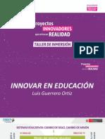 Innovar en Educación