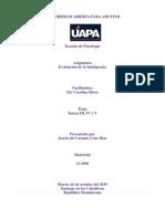 PSI 413 Evaluaciвn de la Inteligencia, tareas 3, 4 y 5.docx