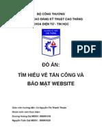 DA Tim HieuTan Cong Va Bao Mat Web - Duong Hoang Dai - NguyenTuanDat