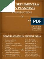 Human Setlements & Town Planning