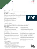 Audi Tt Movement Factsheet