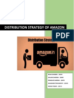 Distribution Strategy of Amazon - Report
