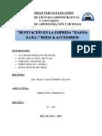 Direccion comercial- empresa de MODA ACCESORIOS.docx