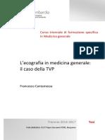 IL'Ecografia in Medicina Generale_ Il Caso Della TVP