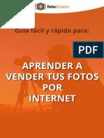 Fotodinero.com Guía Aprende a Vender Fotos Online