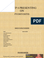 pyomyositis...group 10