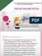 Técnicas projectivas