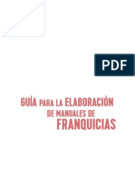 Guía Para La Elaboración de Manuales de Franquicias