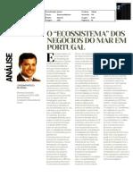 O ecossistema dos negócios do mar em Portugal