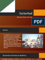 Unidad 5 Esclavitud - Manuela Mesa Sánchez