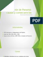 Unidad 6 Separación de Panamá - Ricardo Andrés Sánchez