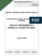 E.em.PB.010 M-Servicio Mantenimiento de Cilindro FM-200 CT Puerto Bravo REV02