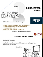 SPPP1042 Unit 7 Projected  Media
