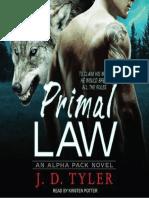01 - Primal Law