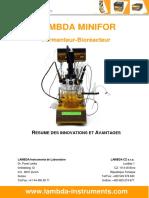 LAMBDA-MINIFOR-fermenteur-bioreacteur-Resume-des-innovations-et-avantages