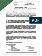 CONTRATO DE CONSTRUCCION