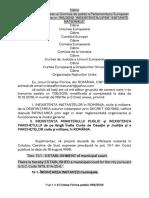 INEXISTENTA INSTANTELOR si a PARCHETELOR-Petitie 1116 din 2019 Cristea Florica Catre Parlamentul European