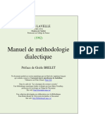Manuel Metho Dialectique