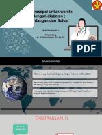 PPT Translate Jurnal Kontrasepsi Pada Ibu DM