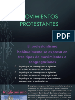 Movimientos Protestantes