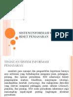 Sistem Informasi Global Dan Riset Pemasaran