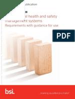 BSI ISO 45001