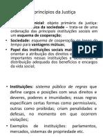 Os princípios da Justiça - aula 4