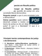 Introdução tópicos especiais em filosofia política