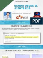 CJEE B Ejercicio 03 SeguridadJavaEE ClienteEJB