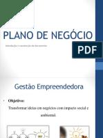 04 - Gestão Empreendedora - Plano de Negocio