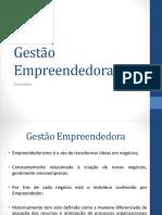 02 - Gestão Empreendedora - Conceitos