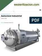 ▷Autoclave Industrial. Usos y modelos _ Autoclave Esterilizador