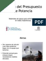 Cálculo del Presupuesto de Potencia.pdf