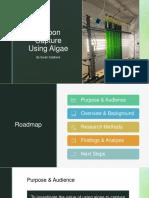 carbon capture using algae