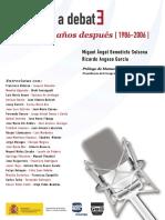 Europa a Debate, 20 años Después