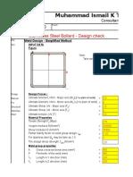 weld design-type1 short