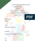 Aportes de La Psicología y Su Importancia en El Campo Educativo