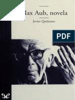 Quinones, Javier - Max Aub, novela [52629] (r1.0).epub
